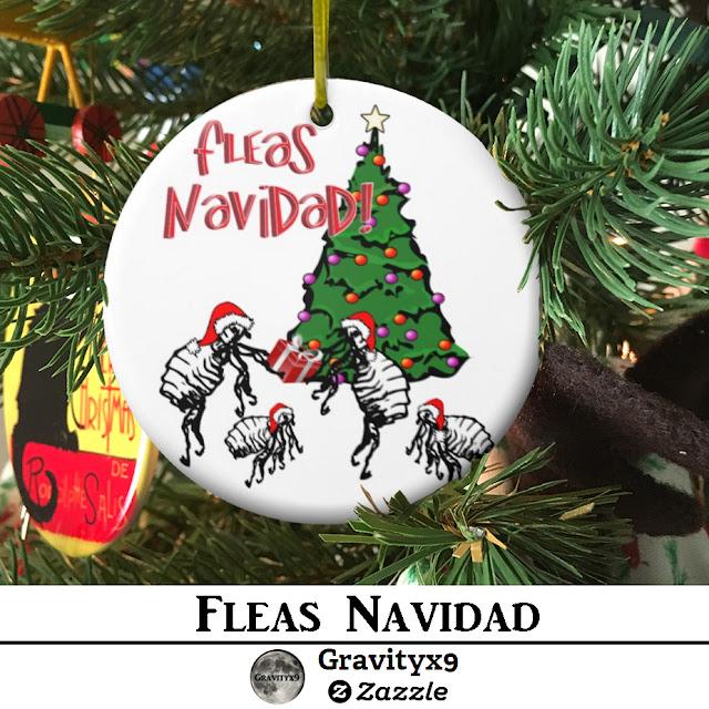 Funny Dancing Fleas Fleas Navidad Christmas Ornaments At Zazzle