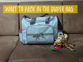 What to pack in a diaper bag?