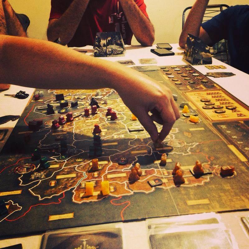 A Guilda: Jogatina De A Guerra Dos Tronos: Board Game
