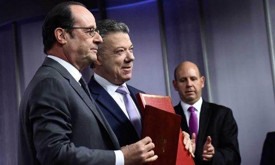 Francia ayudará a Colombia durante período de posconflicto