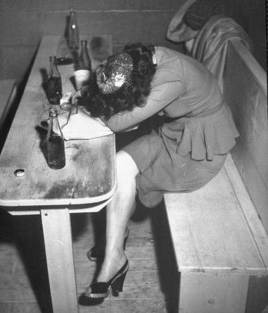 Drunk Woman 83