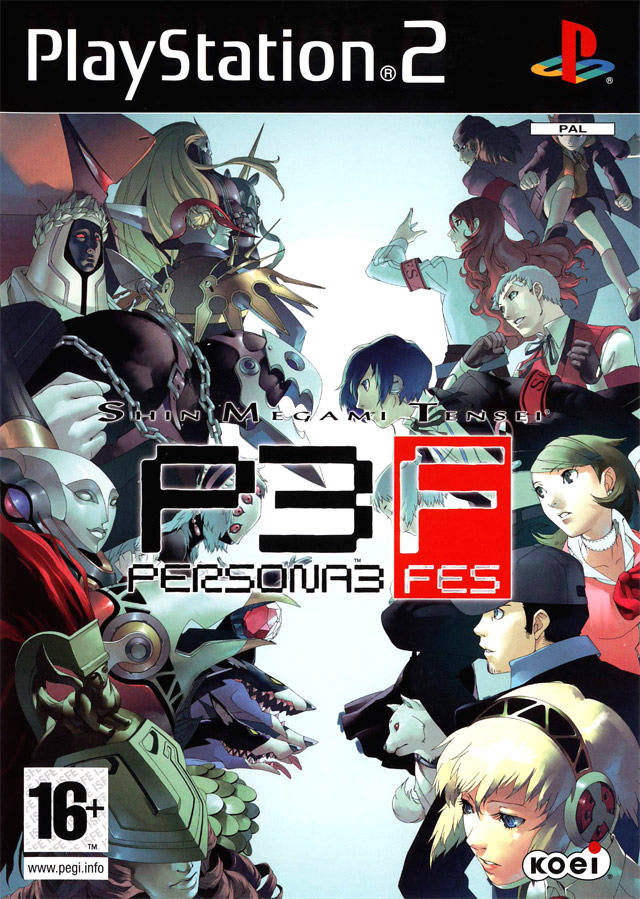 My Collection Playstation ISO Download: (PS2) Persona 3 FES