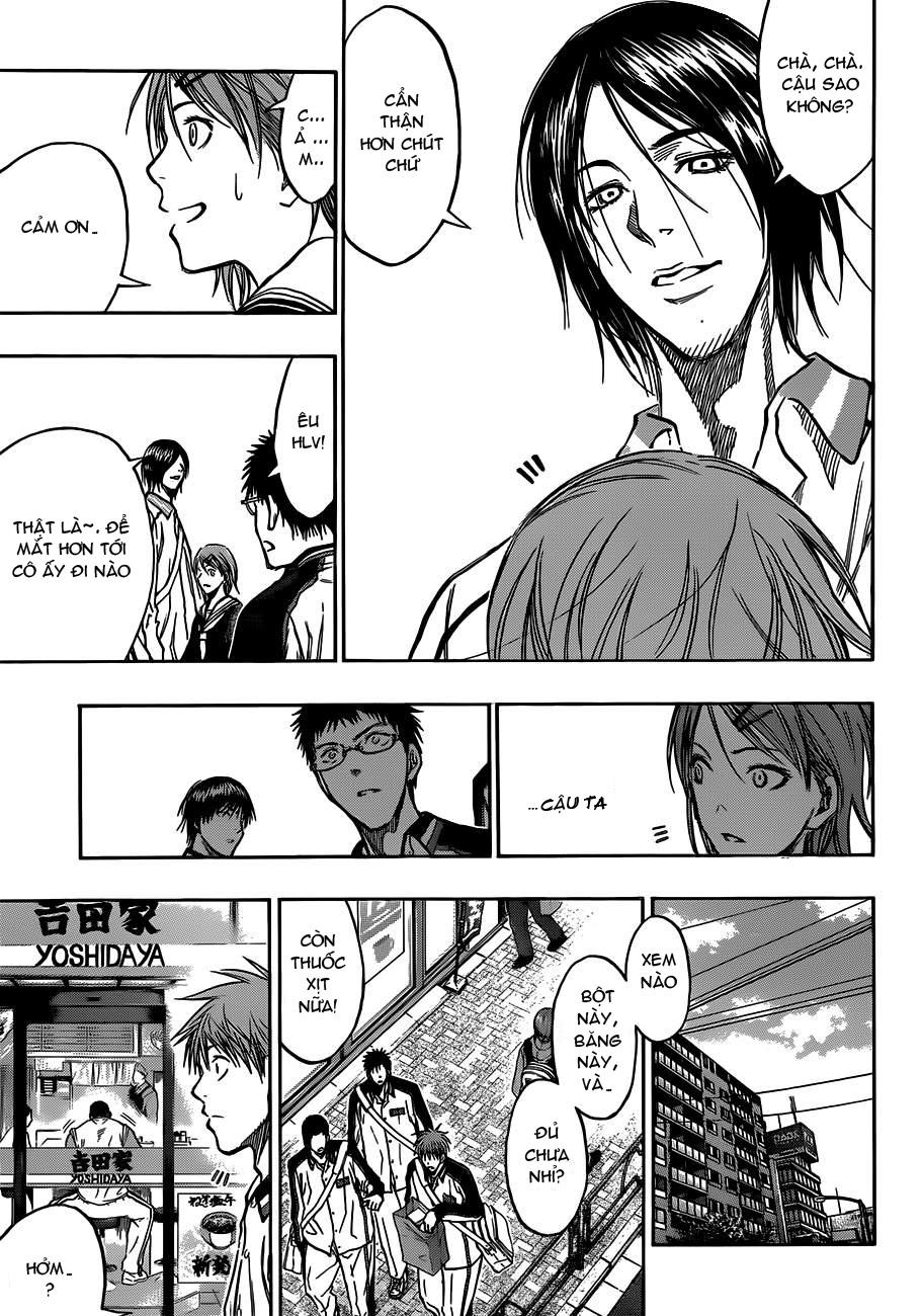 Kuroko No Basket chap 174 trang 9