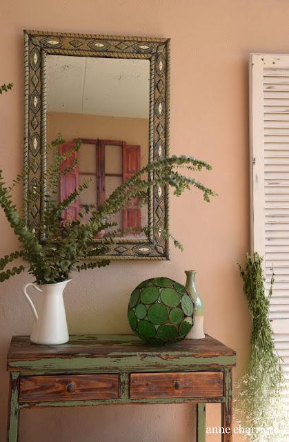 www.annecharriere, atelier d'anne, benahavis, peinture craie, huile de tung, real milk paint,