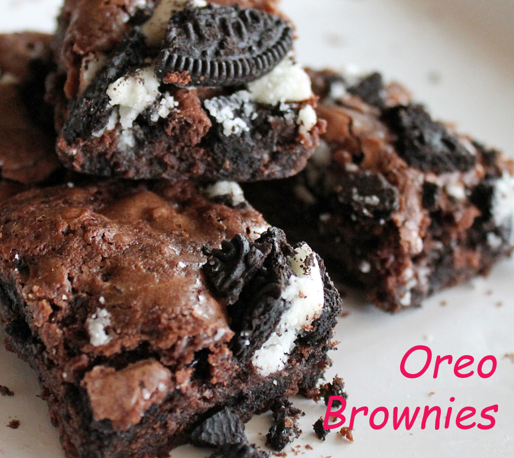 Oreo Brownies Recipe Dishmaps
