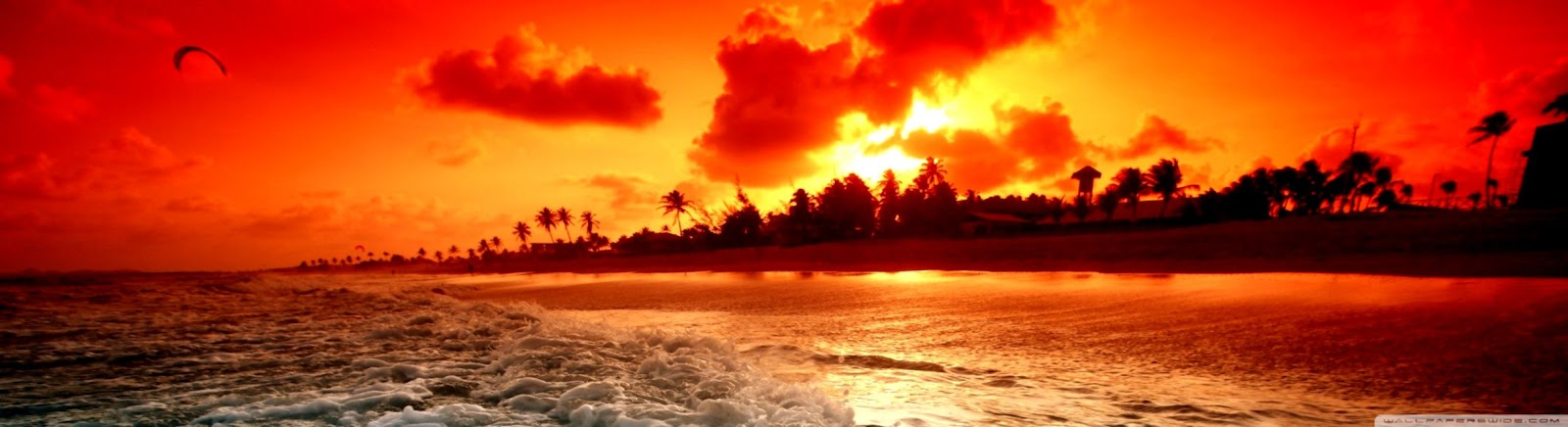 Tropical Beach Sunset Hd Wallpaper Desktop Wallpapers Names