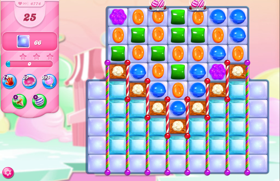 Candy Crush Saga level 4774