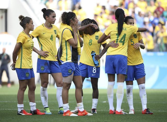 Seleção de futebol feminino do Brasil perde para o Canadá e se despede da Olimpíada sem medalha. Foto: Reuters/Paulo Whitaker/Direitos Reservados