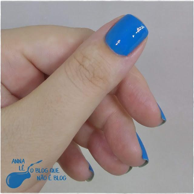 Simplesmente Azul Top Beauty Esmalte Nailpolish Blue Blu