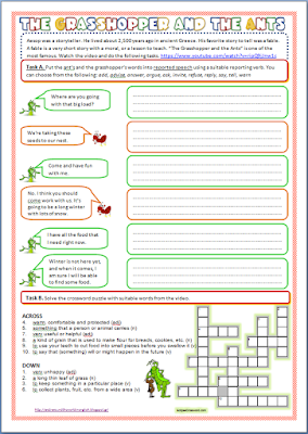 To download the worksheet click here .
