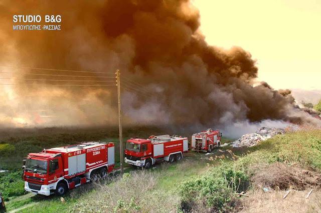 Και στην Αργολίδα υψηλός ο κινδυνος εκδήλωσης πυρκαγιάς σήμερα