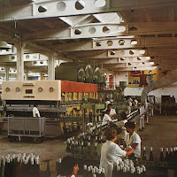 People's Republic of Bulgaria wine bottling line, 1960