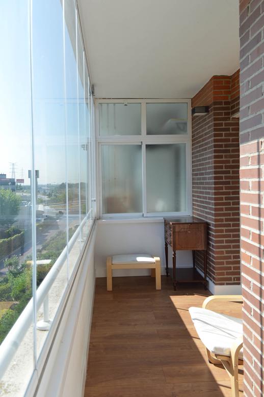 Reforma de lujo-Vivienda-Arquitectos-Madrid-Cortinas de cristal