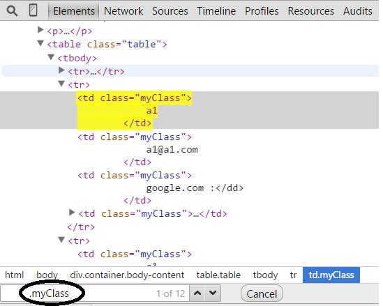 Elements Tab in Chrome Developer Tools - Abhi Jain's  NET Blog