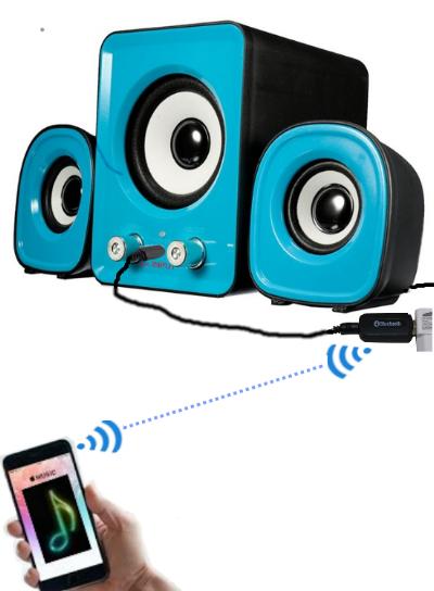 Cara Menggunakan / Koneksi Bluetooth Audio Receiver