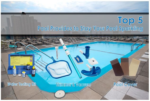Top 5 Pool Provides to Stay Your Pool Sparkling for Summer