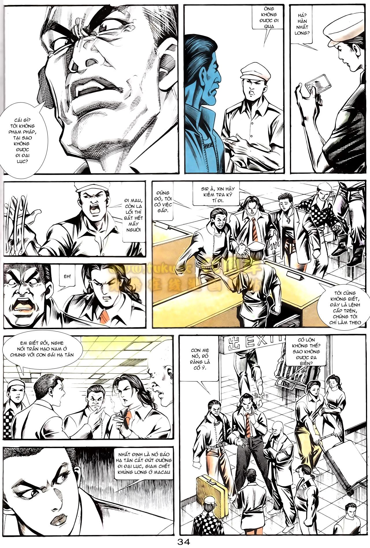 Người Trong Giang Hồ chapter 167: tội sống khó tha trang 22