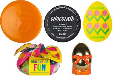 Collezione Pasqua Lush