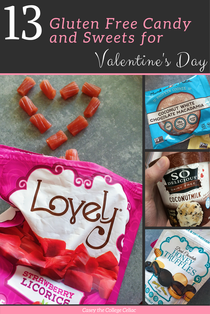 A Celiac's Favorite 13 Gluten Free Candy and Sweets for Valentine's Day