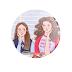 Rory & Lorelai Gilmore (Gilmore Girls) - Botton (#GG001) - 3,8 cm