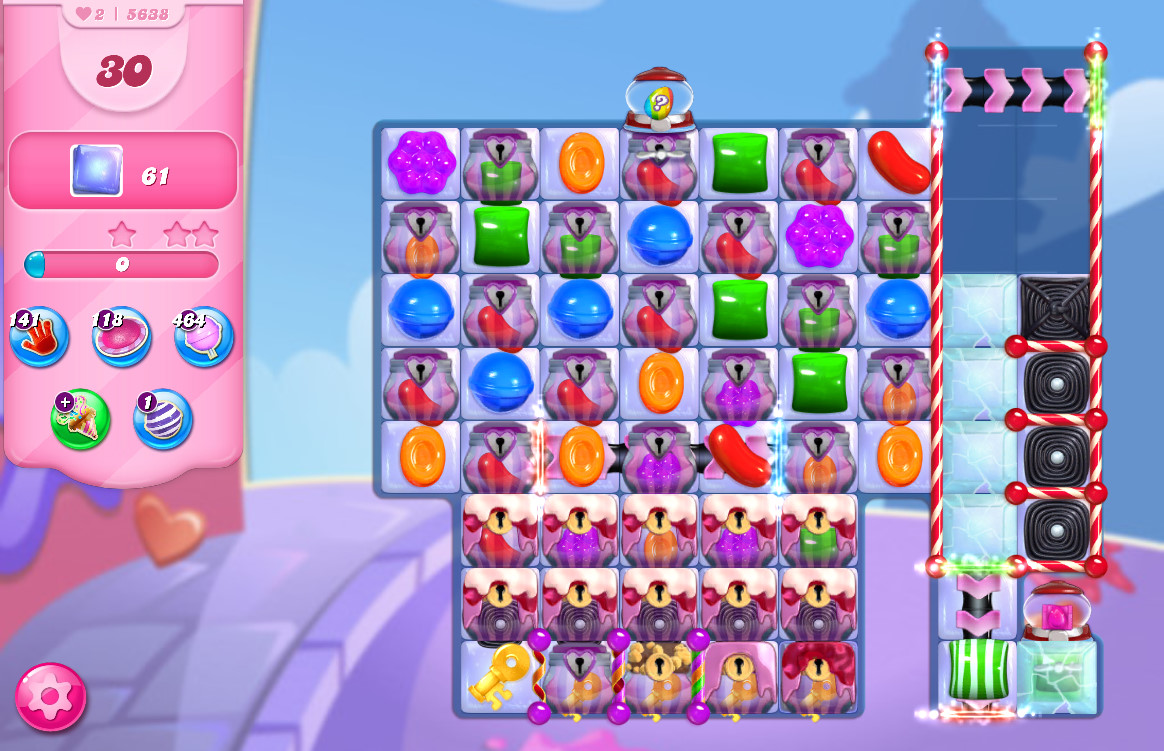 Candy Crush Saga level 5638