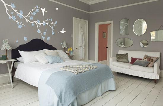 50 desain hiasan dinding kamar tidur kreatif sederhana for Dekor kamar tidur hotel