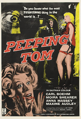 Cartel de Peeping Tom 1960