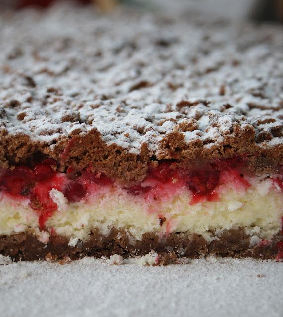 symbio,ciasto czekoladowe z porzeczkami,ciasto latwe,cukier trzcinowy demerara