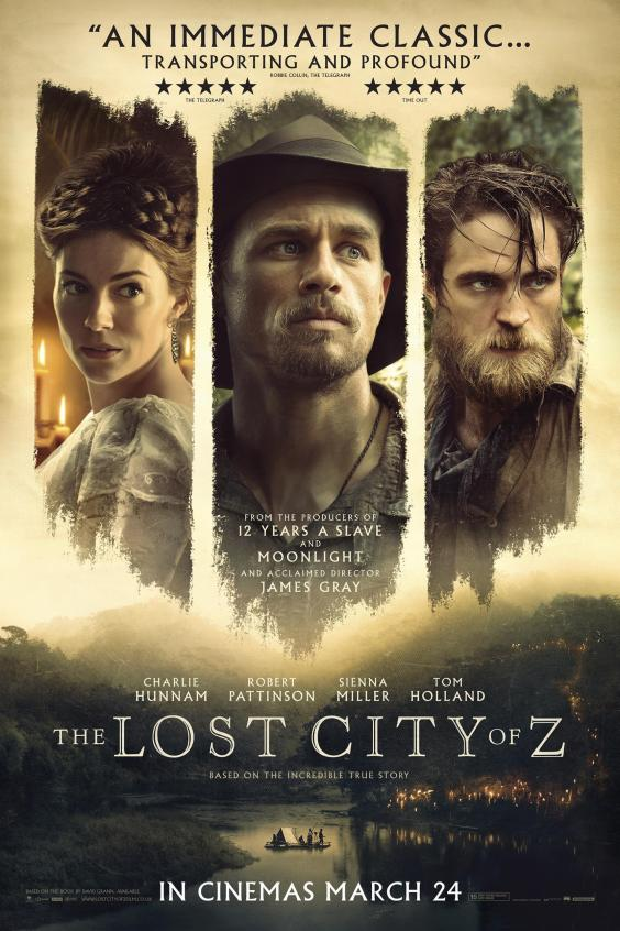 Movie review mom the lost city of z explores the jungles of south the lost city of z explores the jungles of south america and the mind fandeluxe Gallery