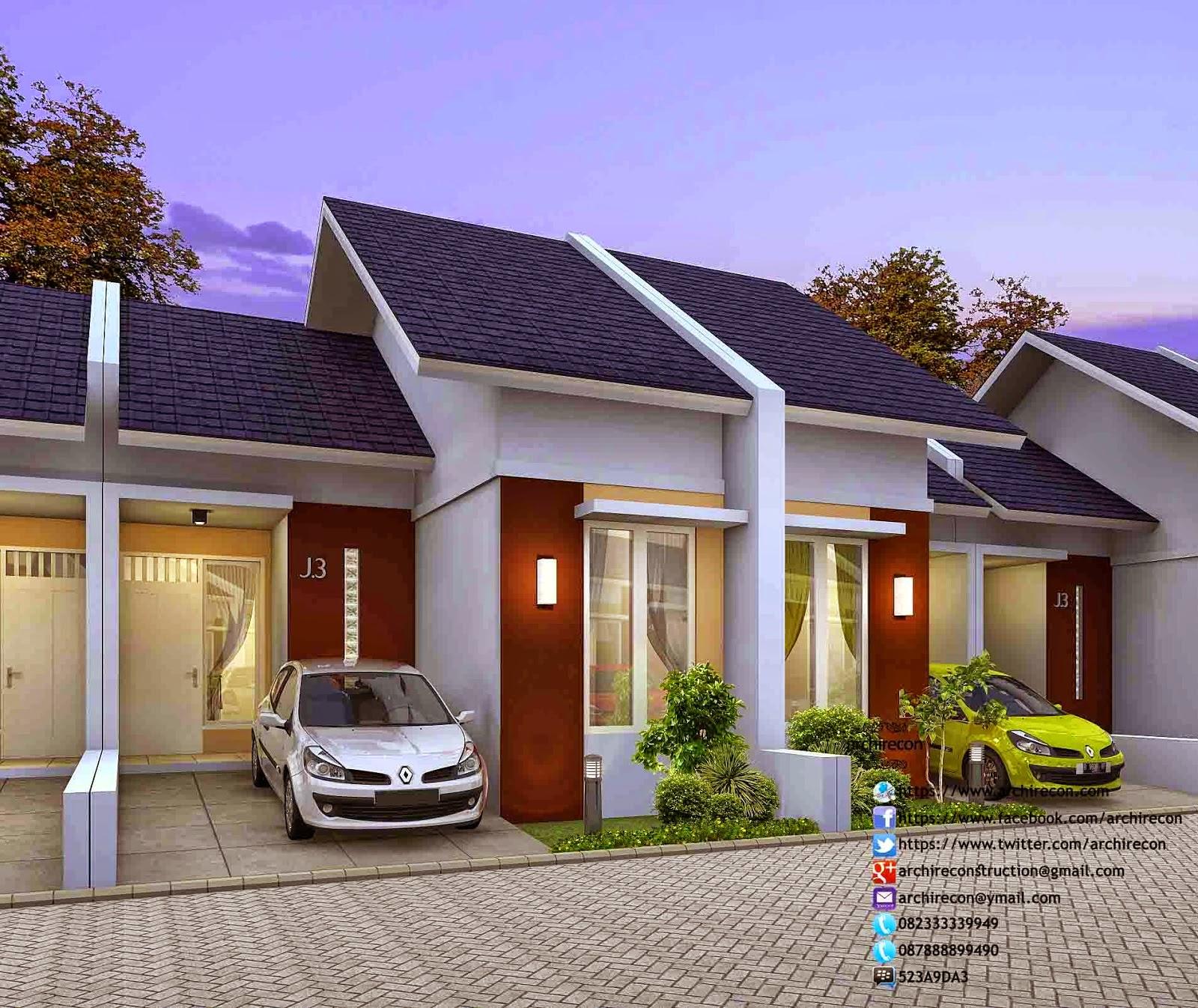 Jasa Desain Rumah Minimalis Type 36