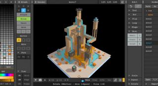 برنامج, مجانى, لإنشاء, وتصميم, نماذج, وصور, ثرى, دى, ثلاثية, الابعاد, MagicaVoxel, اخر, اصدار