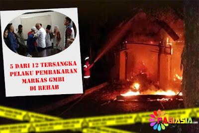 5 dari 12 Tersangka dan Pelaku Pembakaran Markas GMBI di Bogor adalah Anak Dibawah Umur !