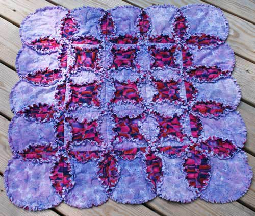 attic window quilt ideas - Quilting Kitty Rag Quilts Not Used for Cleaning