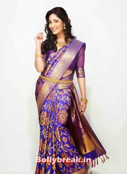 yami gautam indian traditional saree photoshoot pics 9 pics