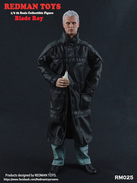 """osw.zone Redman Toys 1 / 6. Scale Blade Rick and Blade Roy 12 """"Collectors aka Deckard & Batty"""