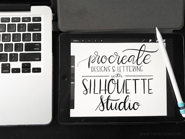 ipad procreate silhouette studio, drawing app, doodling app, hand lettering app, silhouette 101
