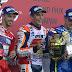 Dua Pembalap Yamaha Rossi - Lorenzo Crash on MotoGP Jepang