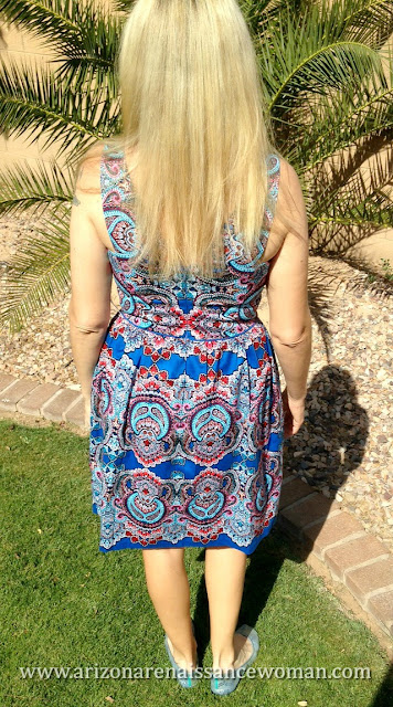Maggy London Patrisha V-Neck Dress (2) - Stitch Fix Review - April 2016