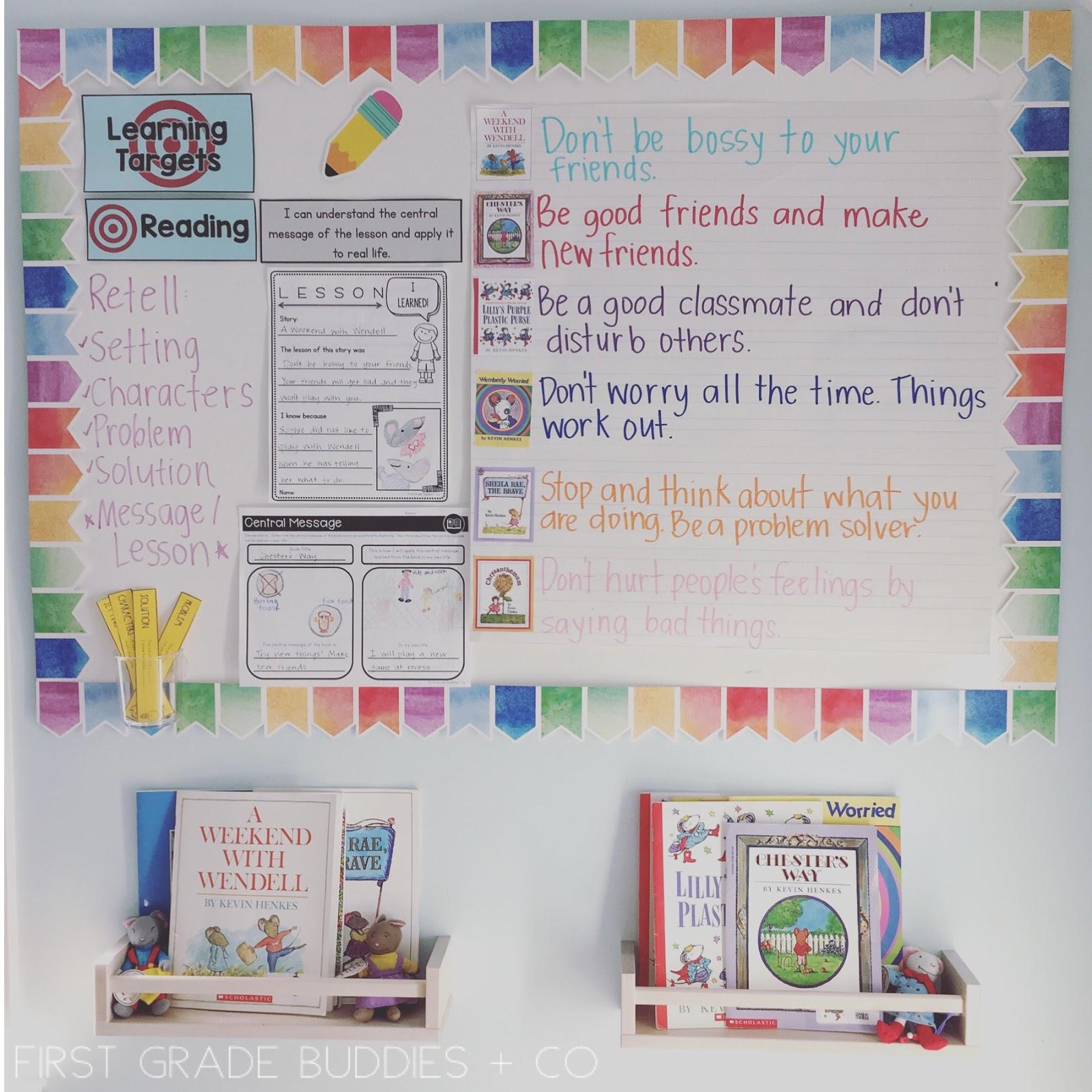 medium resolution of Determining the Central Message (RL 1.2)   First Grade Buddies
