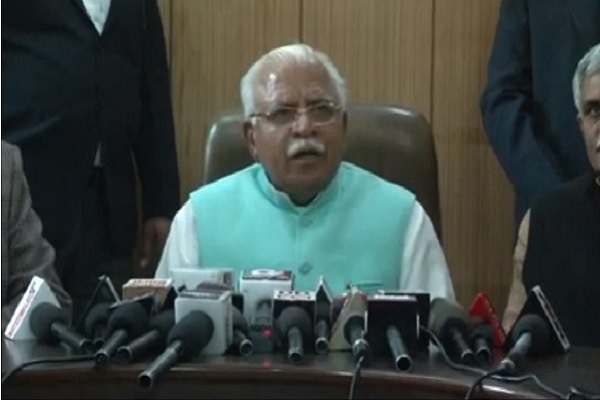 haryana-cm-manohar-lal-announce-to-distribute-cycle-6-9-11-class