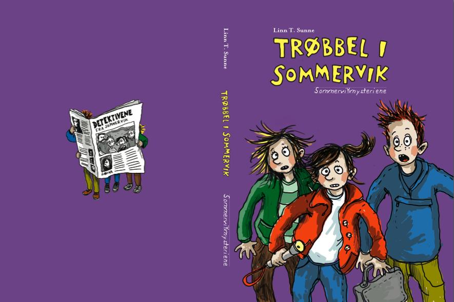skriv spennende vandrehistorier med barna