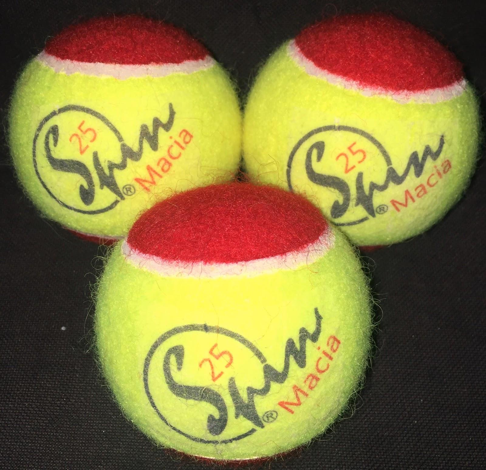 f5e7926250a Bola de tênis SPINMacia 25%
