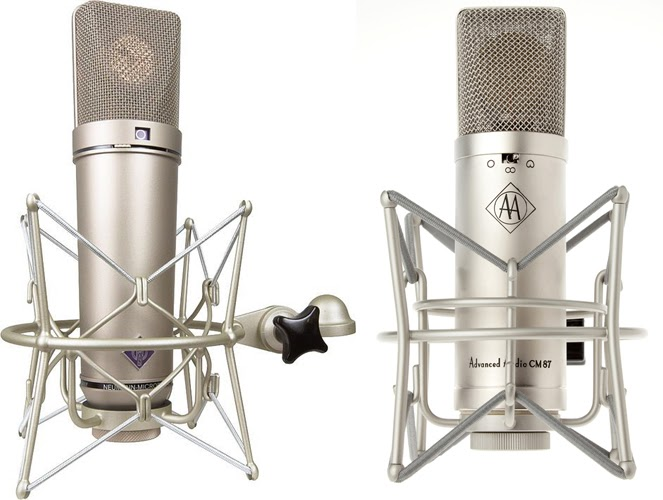 alternatives to expensive audio gear advanced audio microphones review neumann u87 vs cm 87. Black Bedroom Furniture Sets. Home Design Ideas
