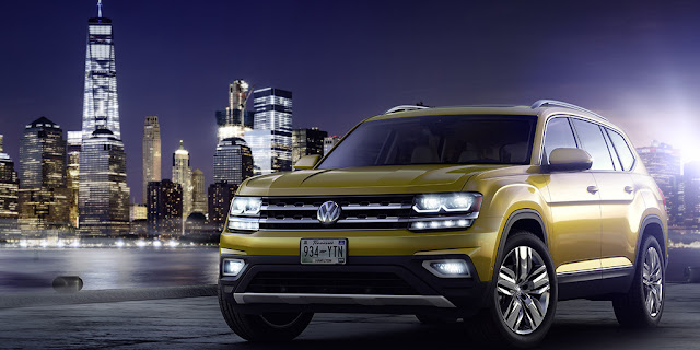 Image Attribute: The all new Volkswagen Atlas (USA) / Source: Volkswagen AG