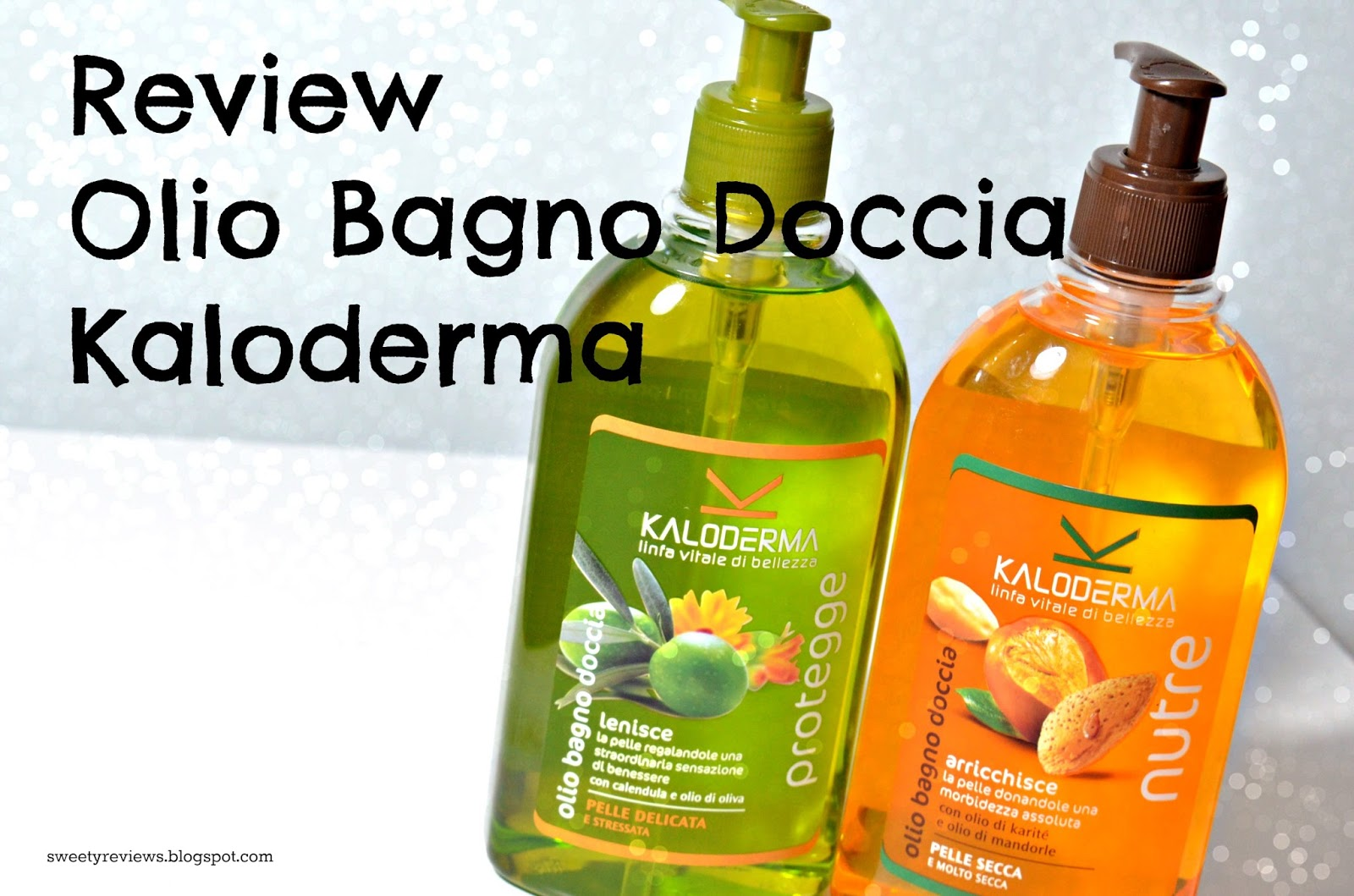 Sweety Reviews: [Review] Olio Bagno Doccia Kaloderma