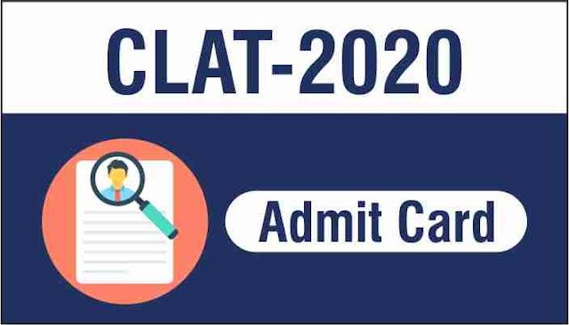 CLAT Admit Card 2020