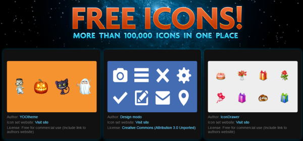 Iconfinder Free icons