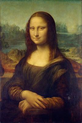 Quadro de Mona Lisa, Leonardo da Vinci