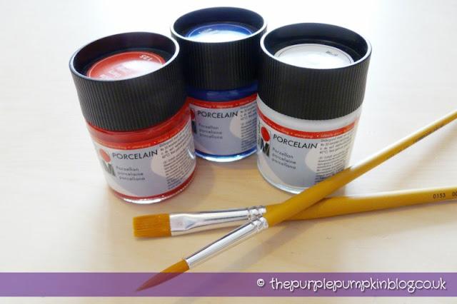 Ceramic/Porcelain Paints
