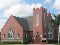 Iglesia en Punta Gorda